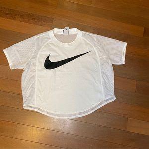 Nike Womens Mesh Back Crop Top XL